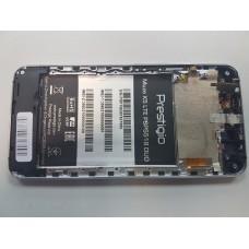 Дисплей Prestigio Muze X5 PSP5518 DUO,в сборе с тачскрином и рамкой